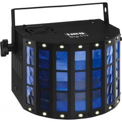 LED DMX light effect unit LED-162RGBW, 48 beams, with integrated stroboscope