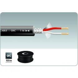 MLC-152 ( 100M ) Microfoon Kabel Rood Zwart Blauw