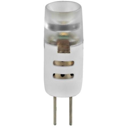 LED pin base lamp, G4, 12 V DC current /1.2 W