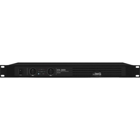 IMG-Stage Line | Monacor Digital stereo PA amplifier STA-300D Class D concept