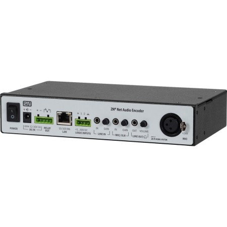 2N NET audio-encoder Audio signal converter