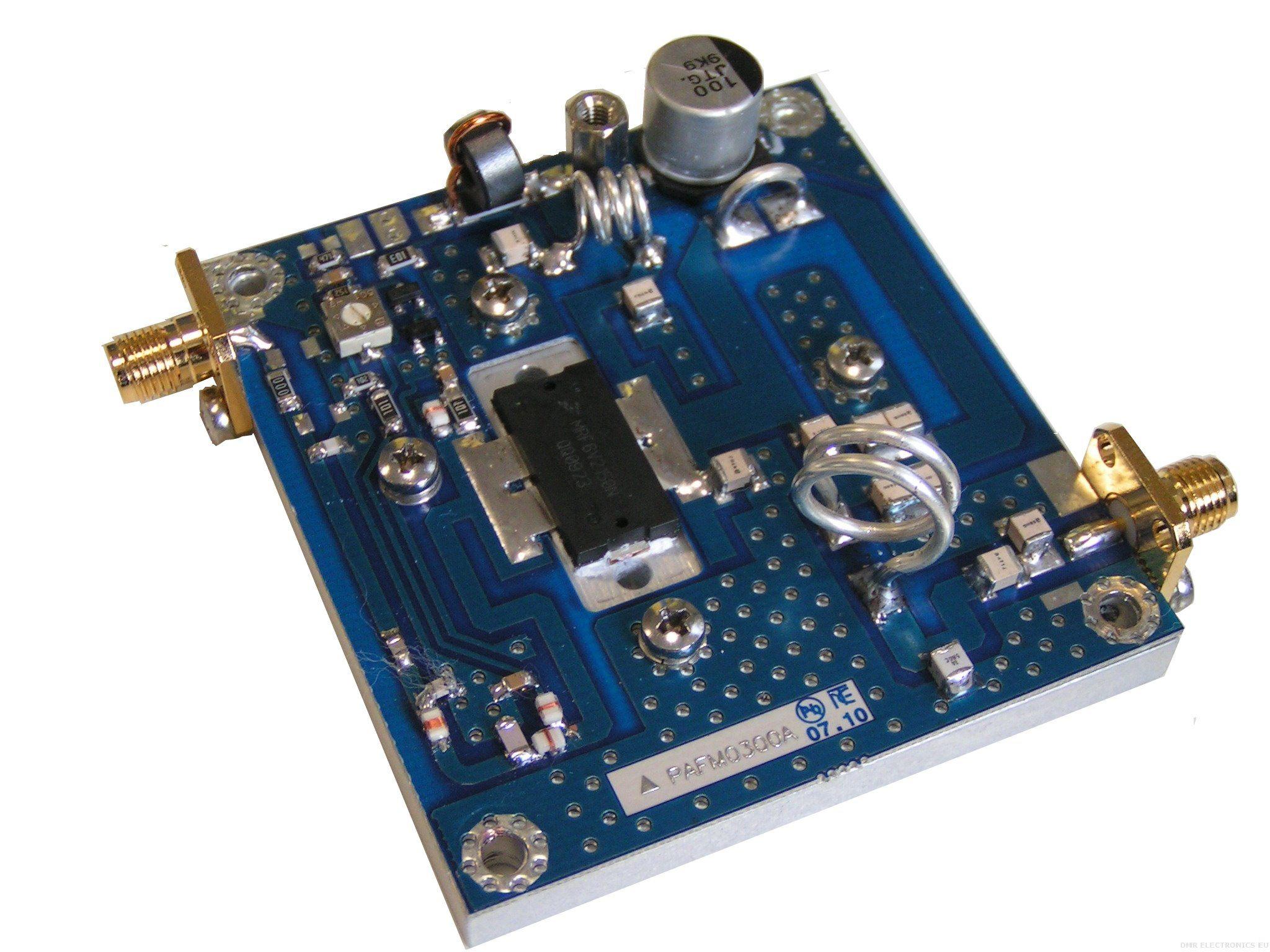 Power Amplifier Pallet 300w Fm Ldmos Device High Schematic Diagram