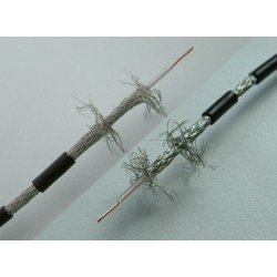 CELF 174 HF double shielded Coax kabel per 10 m