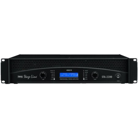IMG-Stage Line STA-2200 Professional stereo PA amplifier