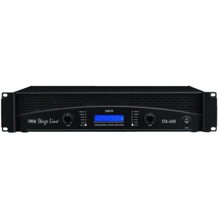 IMG-Stage Line STA-600 Professional stereo PA amplifier