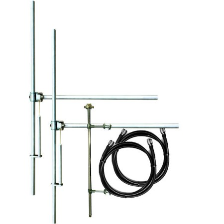 2  bays antenna system, broadband JJT-500- 2