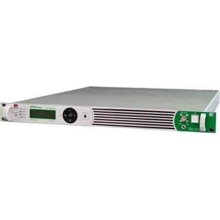 TEM 50 W FM Zender in 1 unit 19inch rack MPX input