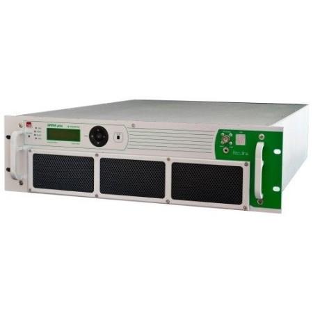 TEM 1000 W FM Transmitter in 3 unit 19inch rack MPX input