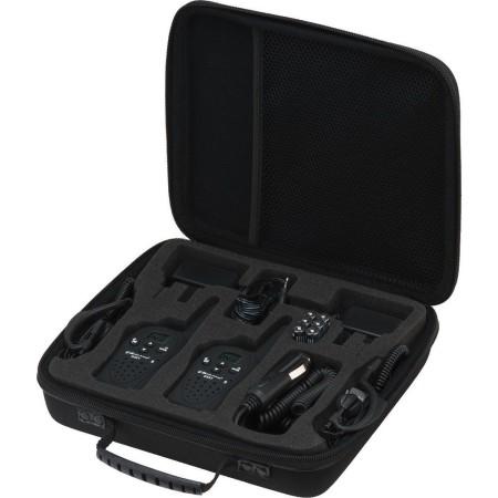 Wireless Pair of transceivers, case set Monacor G-5Stel