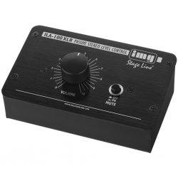 Monacor ILA-1000-XLR Passief stereo niveauregeling XLR versie